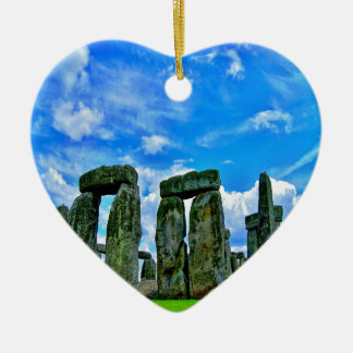 stonehengeのイギリス記念碑の石の円 セラミックオーナメント
