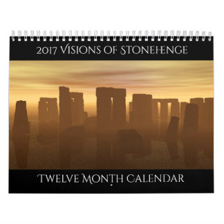 Stonehengeのカレンダーの2017視野 カレンダー