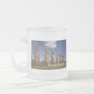 Stonehengeのクラシックで白いマグ フロストグラスマグカップ