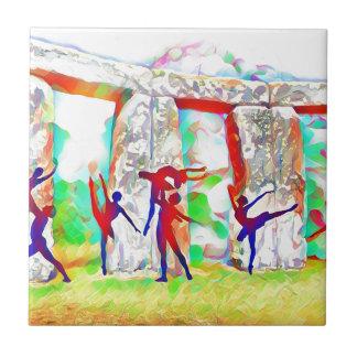 Stonehengeのダンサー タイル