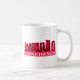 Stonehengeのマゼンタのtransp博物館のZazzleのギフト コーヒーマグカップ