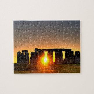 Stonehengeの古代先史時代記念碑 ジグソーパズル