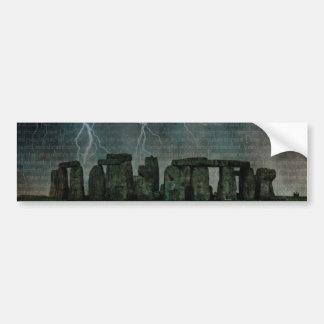 Stonehengeの嵐 バンパーステッカー
