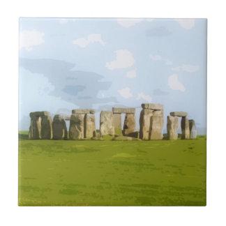 Stonehengeの石造りの円記念碑 タイル