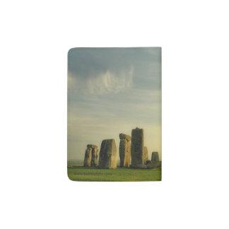Stonehengeの緑 パスポートカバー