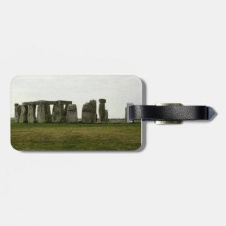 Stonehengeの荷物のラベル ラゲッジタグ