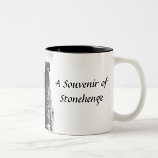 Stonehengeの記念品のマグ ツートーンマグカップ