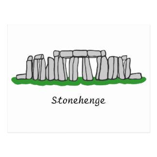 Stonehengeの郵便はがき ポストカード