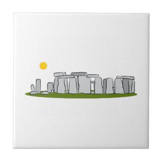 Stonehengeの陸標 タイル