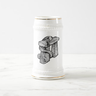 Stonehengeはわなにかけました ビールジョッキ