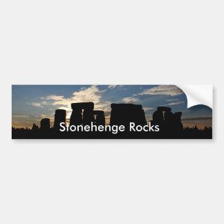 Stonehengeはバンパーステッカーを揺すります バンパーステッカー