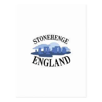 Stonehengeイギリス ポストカード