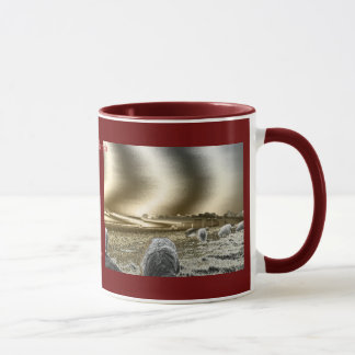 Stonehenge日曜日は信号器のコーヒー・マグを振ります マグカップ