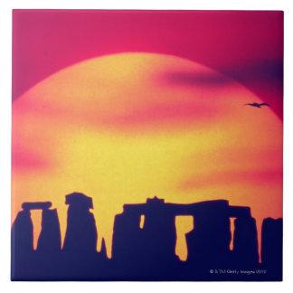 Stonehenge、イギリス2 タイル