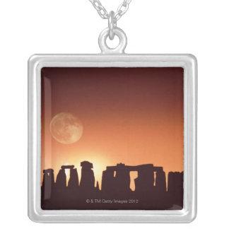 Stonehenge、イギリス3 シルバープレートネックレス