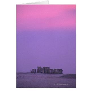 Stonehenge、イギリス カード