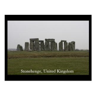 Stonehenge、イギリス ポストカード
