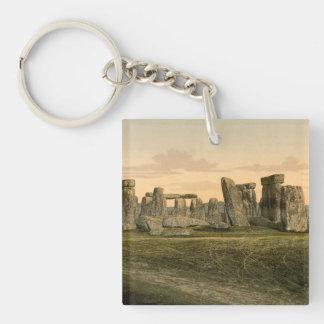 Stonehenge、ウィルトシャー、イギリス キーホルダー