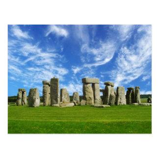 Stonehenge、ウィルトシャー、イギリス ポストカード