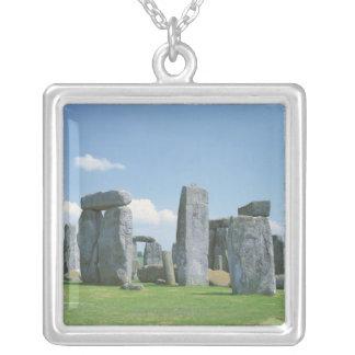 Stonehenge シルバープレートネックレス