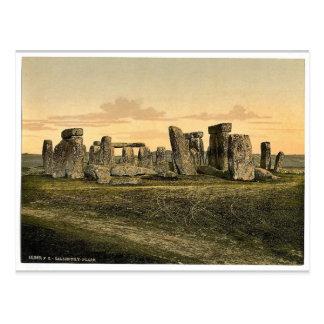 Stonehenge、ソールズベリー、イギリスまれなPhotochrom ポストカード