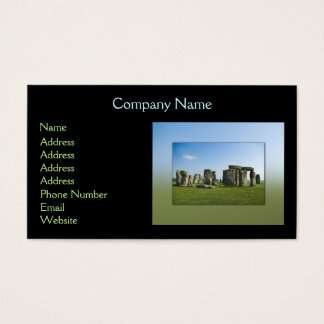 Stonehenge 名刺