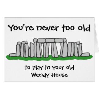 Stonehenge -決して余りに古い誕生日 カード