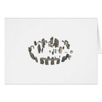 Stonehenge: 3Dモデル: カード