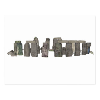 Stonehenge: 3Dモデル: ポストカード