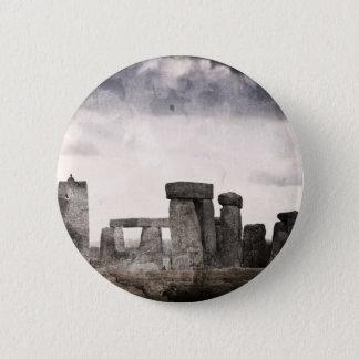 Stonehenge 5.7cm 丸型バッジ