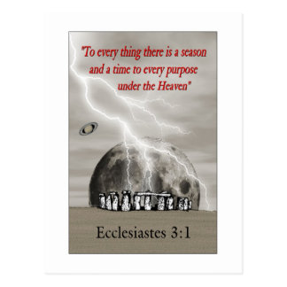 Stonehenge Ecclesiastes ポストカード