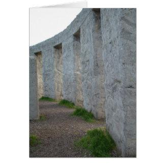 Stonehenge - WWIの記念物- Maryhill、ワシントン州 カード