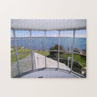 Stonington港の灯台、CTのジグソーパズル ジグソーパズル