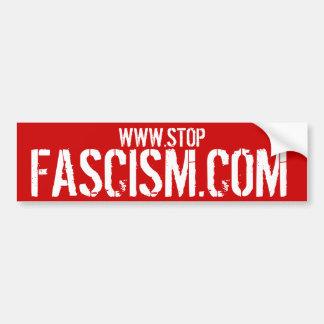 STOPFASCISM.COM -停止ファシズムのバンパーステッカー バンパーステッカー