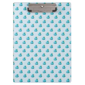 storemanによるカスタマイズ可能で青いゴム製アヒル クリップボード