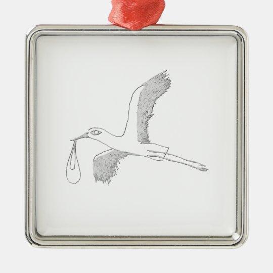 stork メタルオーナメント