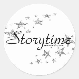 Storytime ラウンドシール