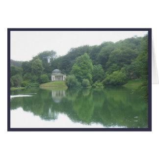 Stourhead、ウィルトシャーの寺院 カード