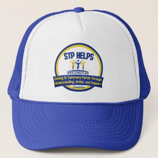 STPは帽子のトラック運転手St. Tammanyを救済します キャップ
