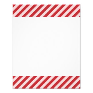 [STR-RD-1]ストライプのな赤と白のキャンディ・ケーン チラシ