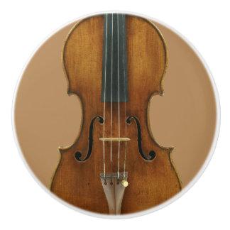 Stradivari Violin Detail セラミックノブ
