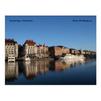 Strandvägen、ストックホルムの写真のOla… ポストカード