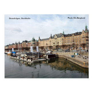 Strandvägen、ストックホルムの写真Ol… ポストカード