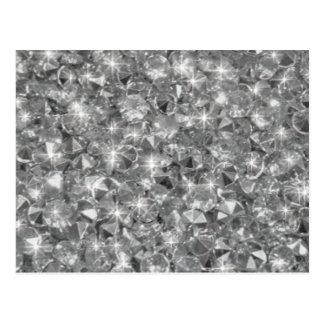 Strassの水晶の質のイメージ ポストカード