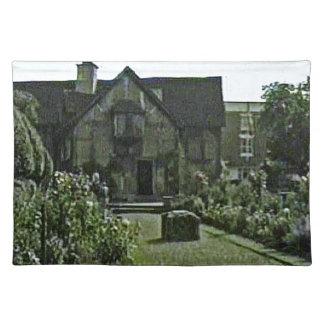 StratfordにAvonシェークスピアの出生地のjGibn ランチョンマット