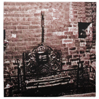 StratfordにAvonシェークスピアの暖炉のjGibne ナプキンクロス
