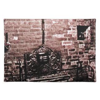 StratfordにAvonシェークスピアの暖炉のjGibne ランチョンマット