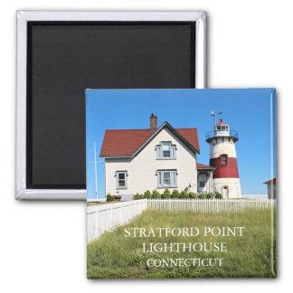 Stratfordポイント灯台、コネチカット マグネット