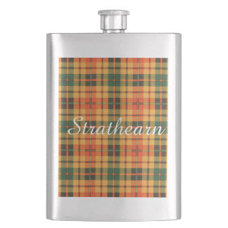 Strathearnの一族の格子縞のスコットランド人のタータンチェック フラスク