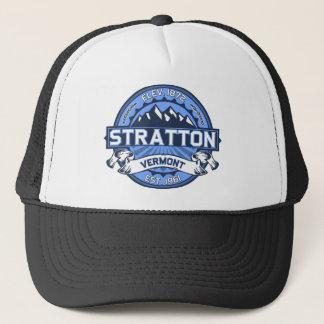 Strattonのロゴの青 キャップ